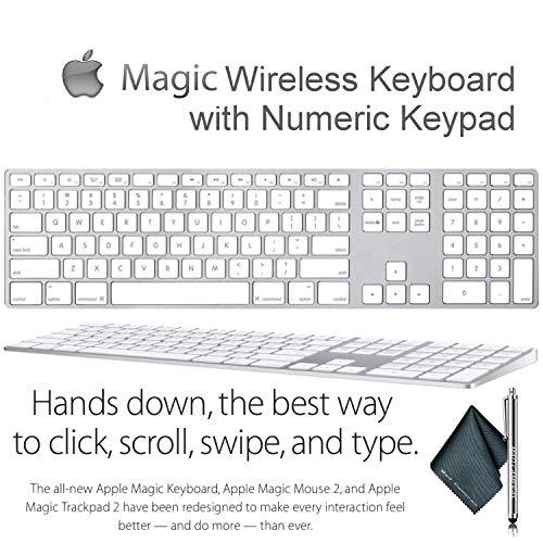 Magic Keyboard inalámbrico con teclado numérico para Apple ...