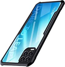 TheGiftKart Shockproof Crystal Clear Realme 8 8 Pro Back Cover Case 360 Degree Protection Protective Design Transparent Back Cover Case for Realme 8 8 Pro Black Bumper