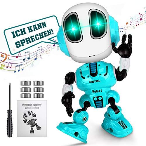 WEARXI Kinder Spielzeug Jungen - Spielzeug ab 3 Jahre, Roboter KinderSpielzeug Jungen, Intelligenter Roboter Spielzeug Jungen, Geschenke für Kinder, Nikolaus Geschenke Kinder, Mädchen, Junge