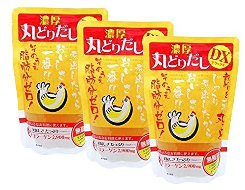 食塩無添加 濃厚 日本スープの丸どりだし 250g×3袋セット