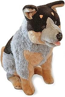 Bocchetta Plush Toys Cattle Dog Sitting Soft Plush Toy Heeler Rocky 18