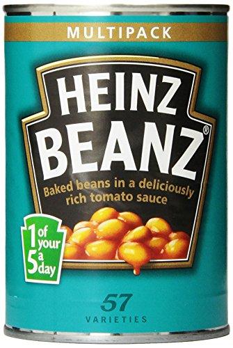 Heinz Baked Beans. Heinz Baked Beans 415g 4 Pack (