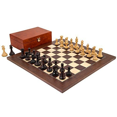 The Regency Chess Company Ltd Windsor palissandro e montgoy PALISSANDRO SET DI SCACCHI