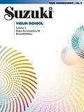 Suzuki Violin School - Volume 5 (Revised): Piano Accompaniment