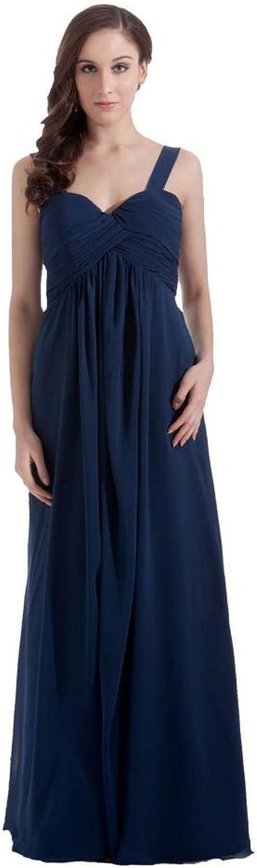 Dearta Women's Empire Sweetheart Sleeveless FloorLength Bridesmaid Dresses