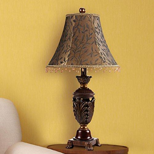 Bonne chose lampe de table Lampe de table européenne Chambre à coucher Robe de table de mariage de mariage Lampe de table décoratif rétro
