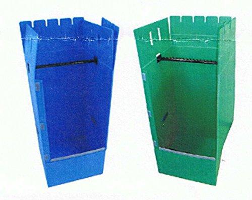 プラ段ハンガーボックス(緑)