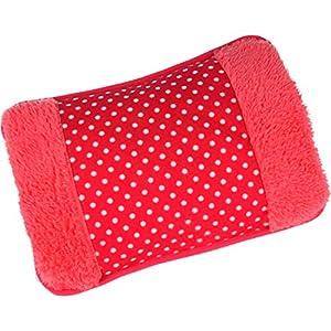 MovilCom® Bolsa de Agua Caliente Eléctrica | Caliente en sólo 15 minutos | Calientamanos | Dolor muscular, espalda, menstrual (Mod.98)