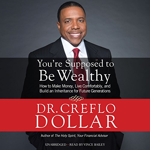 You're Supposed to Be Wealthy audiobook cover art