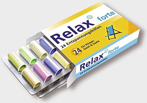 Relax forte: 24 Entspannungshilfen für Körper, Geist und Seele