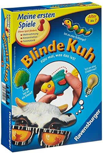 Ravensburger 21404 - Blinde Kuh - Kinderspiel, Gegenstände fühlen und ertasten - Tastspiel für 1-4 Spieler, ab 3 Jahren geeignet