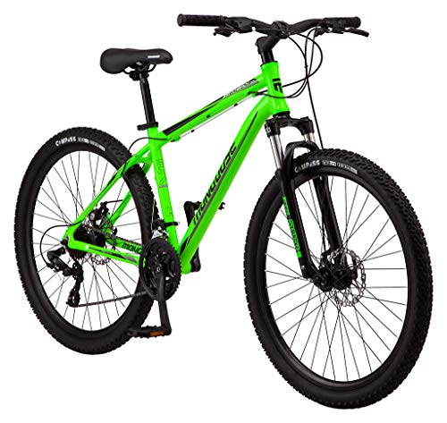top 10 mongoose mountain bikes Mongoose Switchback Trail Mountain Bike Adult, 21 Speed, 27.5 inch Wheels, Small Aluminum Mens …