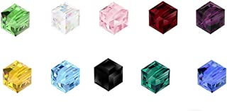 Wholesale Mix Lots Top Quality Cube Crystal Beads 6mm (300pcs) for Earrings Bracelet Necklace Anklet Charm Keychain Jewelry Making CCS12