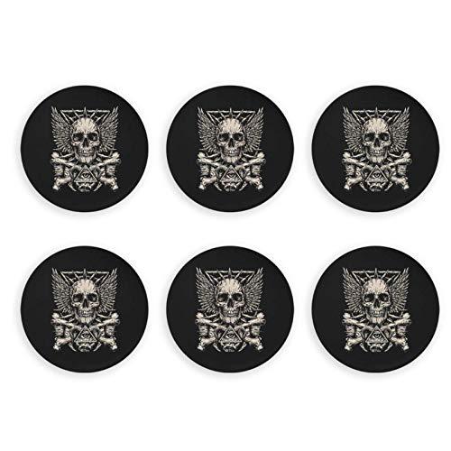 Heavy Metal Skull Rock Imanes de Nevera de Mano Abrebotellas de Cerveza...