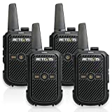 Retevis RT15 Walkie Talkie Rechargeable FRS 16 Channel Lock VOX Hands-free 2 Way