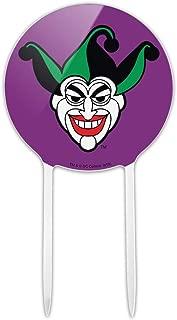GRAPHICS & MORE Acrylic Batman Joker Symbol Cake Topper Party Decoration for Wedding Anniversary Birthday Graduation