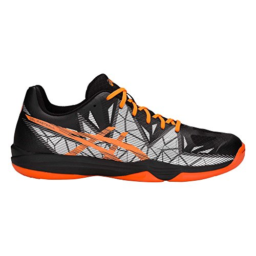 ASICS Gel-Fastball 3 Handballschuh Herren schwarz/orange, 8.5 US - 42 EU