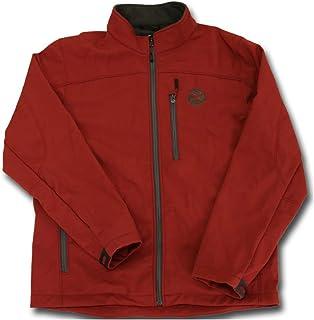 HOOey Softshell Jacket, Crimson with Charcoal