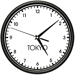 SignMission Tokyo Wall World time Zone Clock Office Business, Beagle