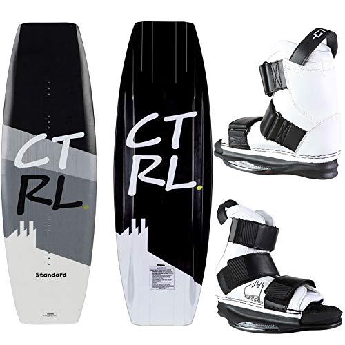 CTRL Standard Wakeboard 139cm Imperial Bindings Mens Sz L  White