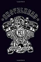 HD Shovelhead United States American Legend: Dot Grid Journal, 100 pages