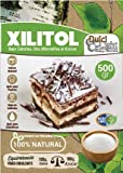 DULCILIGHT Xilitol Edulcorante 100% Natural 500 gr Origen Abedul de Finlandia + (5 sobres de prueba Nuevo DULCILIGHT Edulcorante Moreno) Sustituto del Azúcar en cocina y Repostería