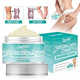 Varicose Veins Cream, Varicose Vein & Soothing Leg Cream, Natural Varicose & Spider Veins Treatment, Strengthen Capillary Health, Improve Blood Circulation, Tired and Heavy Legs Fast Relief