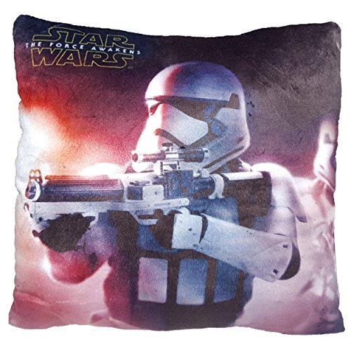 Daum Pimp Up Your Life 15995 Disney Star Wars Kuschelkissen Stormtrooper, Plüsch, 30 cm