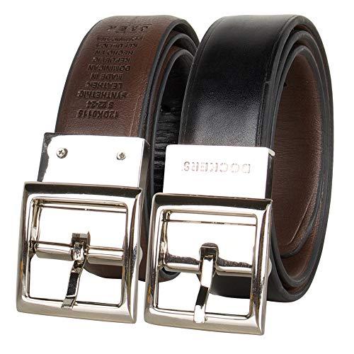 Dockers - Randa Reversible Dress and Casual Belts, Brown/Black Boys, Medium/26-28 Inches