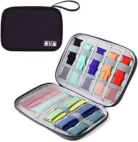 Watch Band Storage Organizer Bag Holds 10 Watch Bands Waterproof Portable Electronics Travel product image