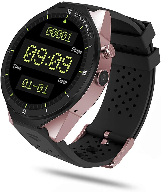 ELYSYSRL Smartwatch Wasserdicht Fitness Aktivittstracker Schrittzhler Herzfrequenzmesser 3G-Karte GPS Navigation WiFi Im Freien Sportuhr