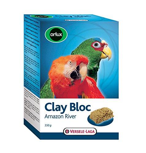Bloc d'argile à picorer Clay Bloc Amazon River Orlux pour oiseaux
