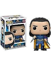 Pop Shaking Head seria Marvel Heroes Ragnarok: Loki #242 statuetka figurki akcji zbieranie model zabawki jako prezenty dla dzieci 10 cm