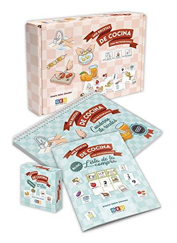 Mis Recetas De Cocina con pictogramas | Aprende Vocabulario y Rutinas En La Cocina | Educación Infantil y Tea (Niños de 3 a 6 años)