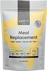 Amazon-Marke: Amfit Nutrition Mahlzeitersatz Bananengeschmack, 2.4kg (ehemals PBN)