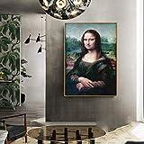 KWzEQ Imprimir en Lienzo Póster de Mujer Bonita en imágenes Decorativas para la decoración del hogar de la habitación50x75cmPintura sin Marco