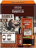 L'Oréal Men Expert Bartpflege Set mit Bartöl und Duschgel, Barber Club Herren Geschenkset, Mit...