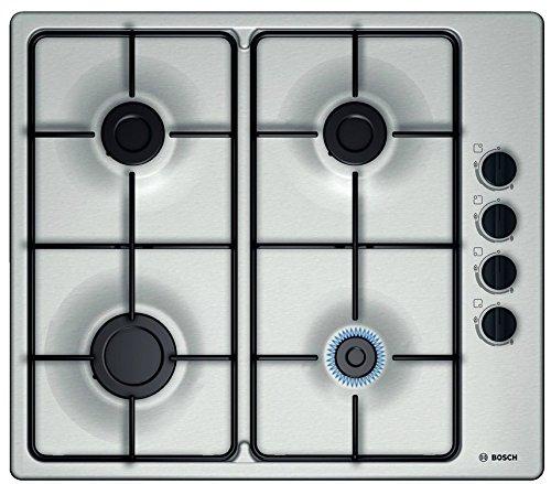 Bosch PBP6B5B80 Kochplatte (Einbau, Gas, Edelstahl, emailliert, drehbar)