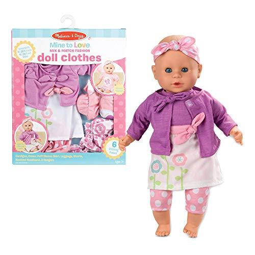 Melissa amp Doug Mix amp Match Fashion Doll Clothes