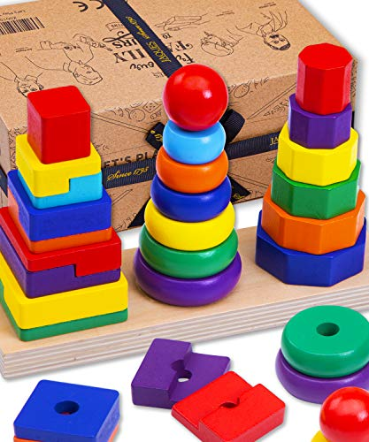 Jaques of London Stacking Toys   Amazing Wooden Toys   Top Montessori Toys...