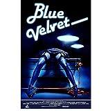 Sanwooden Blue Velvet Movie Poster Cover Poster Leinwand