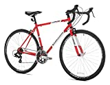 Giordano Libero Acciao Road Bike, 51 cm Frame, Red