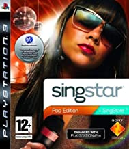 PS3 SINGSTAR POP EDITION