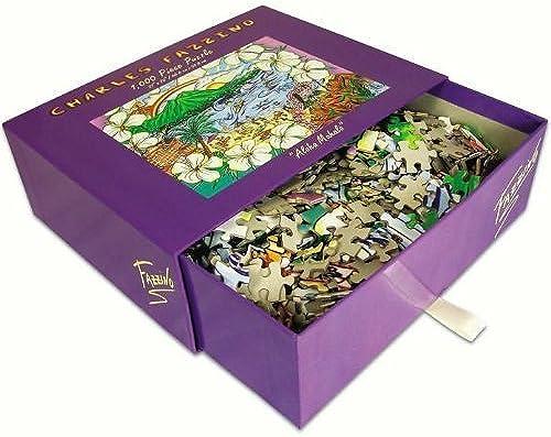 para proporcionarle una compra en línea agradable Charles Fazzino Aloha Mahalo GLITTER PUZZLE 1000 Piece Puzzle Puzzle Puzzle (Talla 20 X 27)  sin mínimo