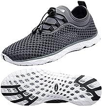 Zhuanglin Women's Quick Drying Aqua Water Shoes,Darkgrey,6.5 B(M) US