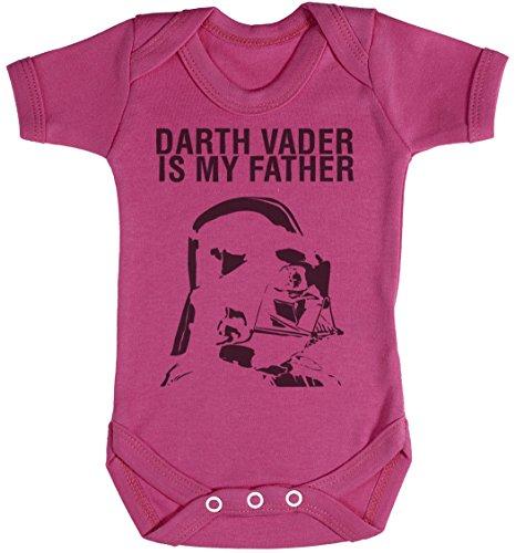 Baby Buddha Darth Vader is My Father Body bébé - Gilet bébé - Body bébé Ensemble-Cadeau - Naissance Rose