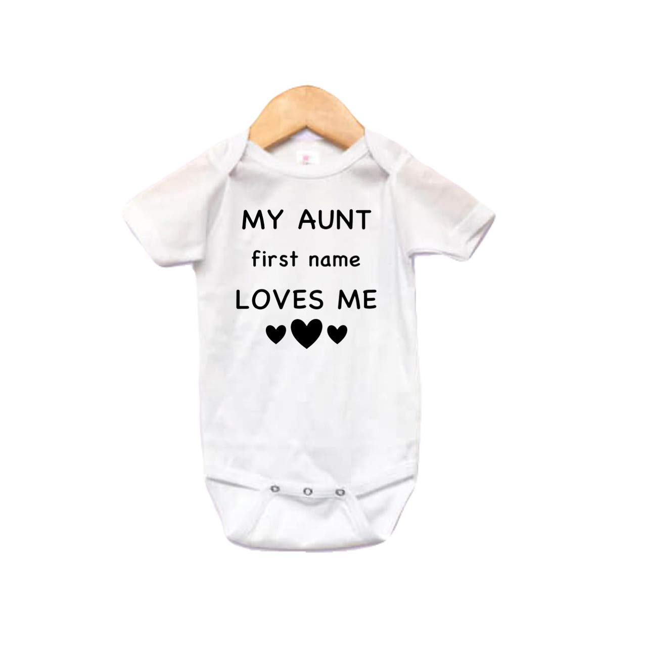 My aunt latest loves Max 68% OFF me baby bodysuit