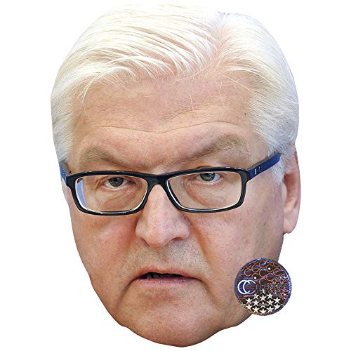 Celebrity Cutouts Frank Walter Steinmeier Big Head.