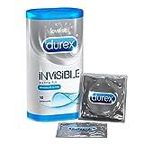 Durex Préservatifs Invisible Extra Fins - 10 pièces