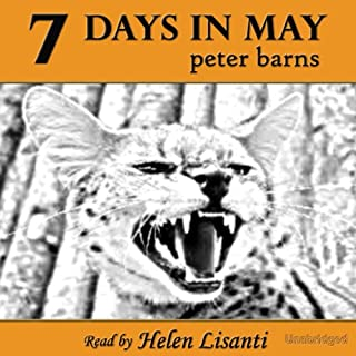7 Days in May audiobook cover art